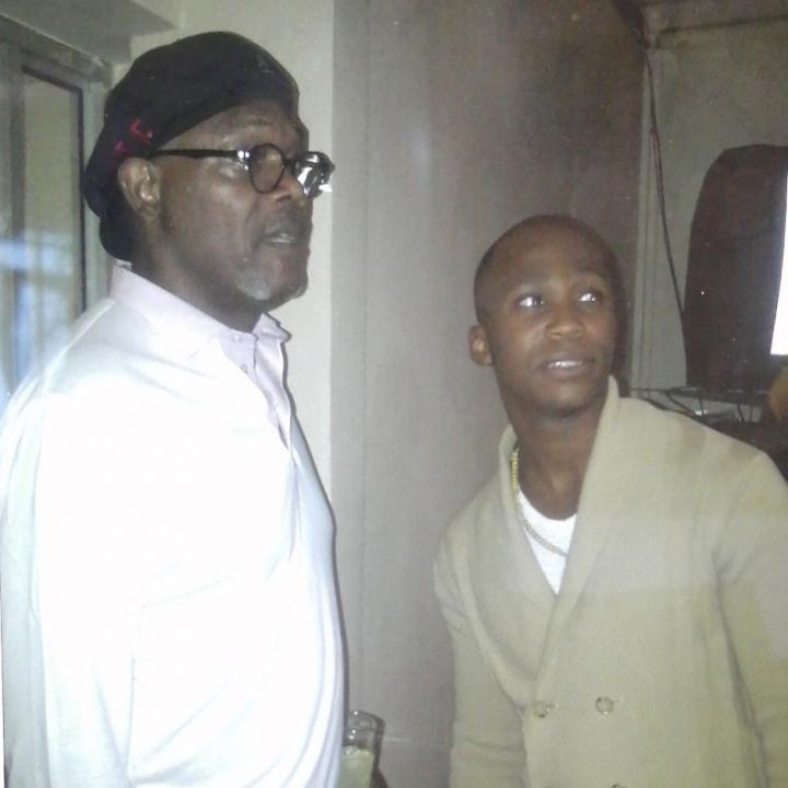 NaakMusiq Shares A Throwback Picture Of Himself And Samuel L. Jackson Image