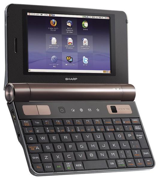 Sharp's 5-Inch Touchscreen Netwalker Netbook