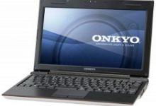 Onkyo C405 Netbook Announced In Japan