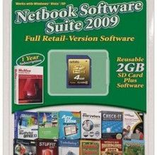 Photo of Netbook Software Suite on USB drive