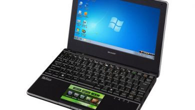 Photo of Sharp NJ70A Netbook Adds Optical Sensor LCD Trackpad To The Mix