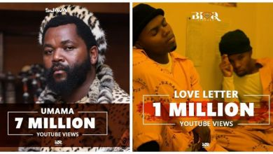 Photo of Sjava's Umama Hits 7M While Blaq Diamond's Love Letter Hits 1M Views on YouTube