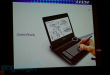 MSI Introduces the Idea of a SketchBook Netbook/Tablet