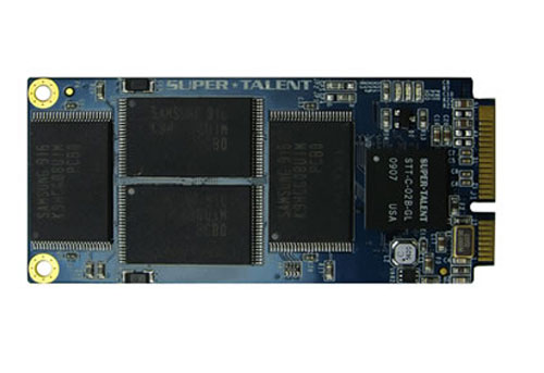 New Super Talent SSDs For ASUS Netbook Storage
