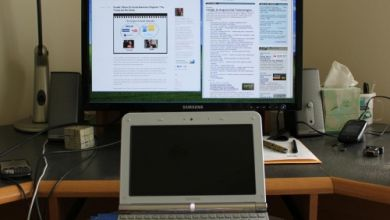 Photo of Hook Your Netbook Up To A Monitor For Easier Browsing