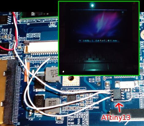 Hack A LED Keyboard Light Onto Your Netbook