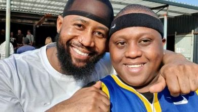 Photo of Watch Cassper Nyovest Laugh Off As Carpo Gets Scared Of Snake Hanging On His Neck