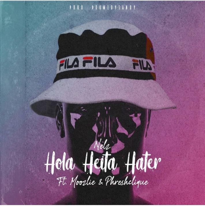 "Watch Nelz Record song ""Hola Heita Hater"" With Moozlie And Phreshclique"