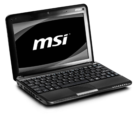 MSI Announces U130 and U135 Wind Netbooks Running Intel Atom N450