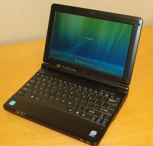 Workhorse PC Makes Customizable Netbook