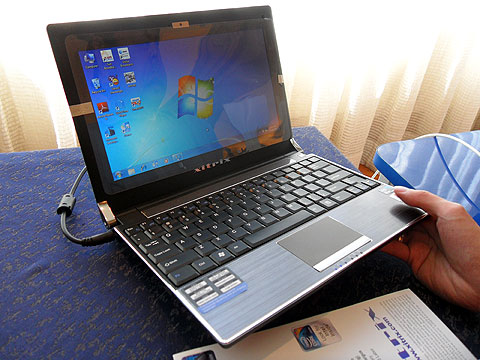 The Filipino Xitrix TravelPro M-10 Netbook