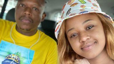 Photo of Babes Wodumo and Mampintsha Joke About Coronavirus