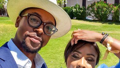 Boity and Maps Maponyane React to #BoityEngagedByMaps