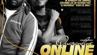 Photo of Kabza De Small, DJ Maphorisa, DJ Zinhle, Shimza, Black Motion, Darque – Quarantine Online Party Mix