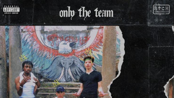 """Rvssian Features Lil Tjay & Lil Mosey On """"Only The Team"""""""