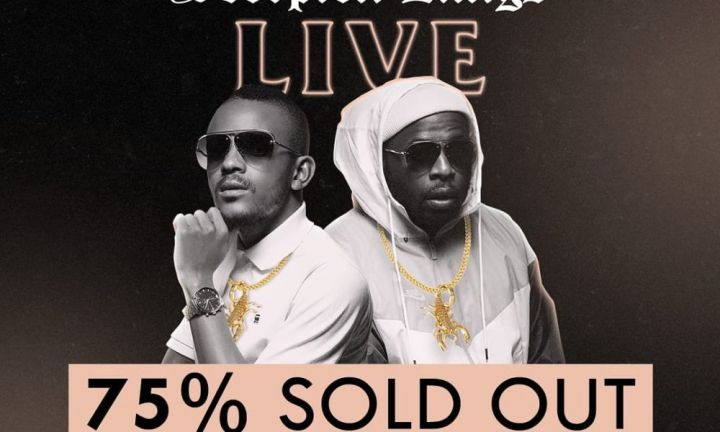 Scorpion Kings Live at the Sun Arena is officially 75% sold out – DJ Maphorisa Image