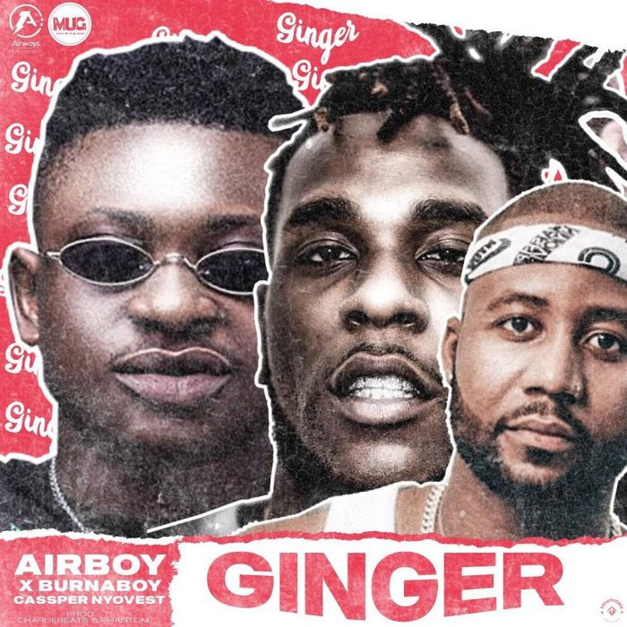 "Nigerian Airboy Enlists Burna Boy And Cassper Nyovest For  ""Ginger"""