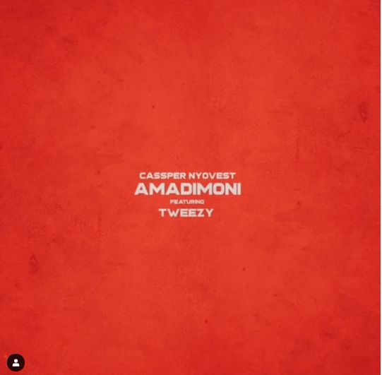 "Cassper Nyovest Features Tweezy On Next Single Titled ""Amadimoni"" Image"
