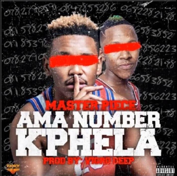 Checkout Masterpiece & Vigro Deep's New Song, AmaNumber Kphela