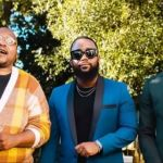 Fans React As Riky Rick , Stogie T, and Cassper Posed for Photos at Black Coffee's Party!