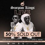 Dj Maphorisa And Kabza De Small's Scorpion Live King At Sun Arena Tickets Are 50% Sold Out