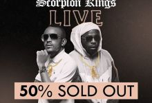 Photo of Dj Maphorisa And Kabza De Small's Scorpion Live King At Sun Arena Tickets Are 50% Sold Out