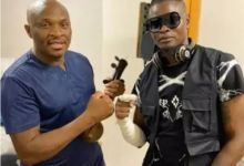 """Photo of Dr Malinga & Pallaso Link Up For """"Africa Show Me Love"""""""