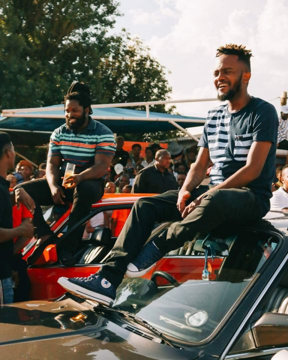 Kwesta And Big Zulu Accused Of Shooting An Individual During Ama Million Remix Video Shoot Image