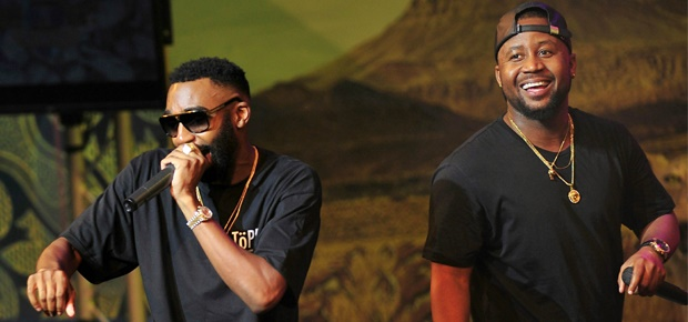 Major League DJz Wants Cassper and Riky Rick On The Same Record Image