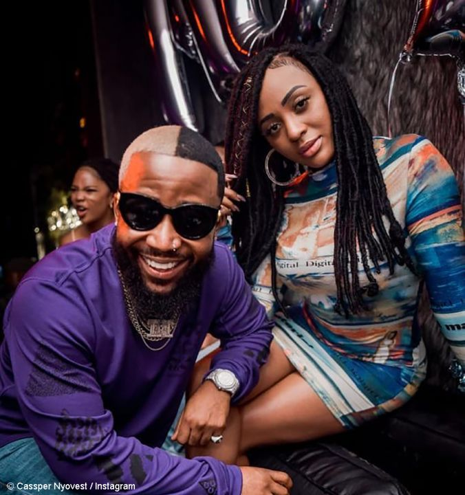 Internet Is Surprised By How Nadia Nakai Reacted To Cassper Nyovest's Missing Playstation Image