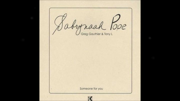 Listen, Sabrynaah Pope – Someone For You (String Quartet Mix) Image