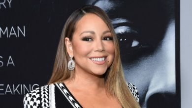 Mariah Carey Works Out To Own Song Draped In Diamonds And Gucci