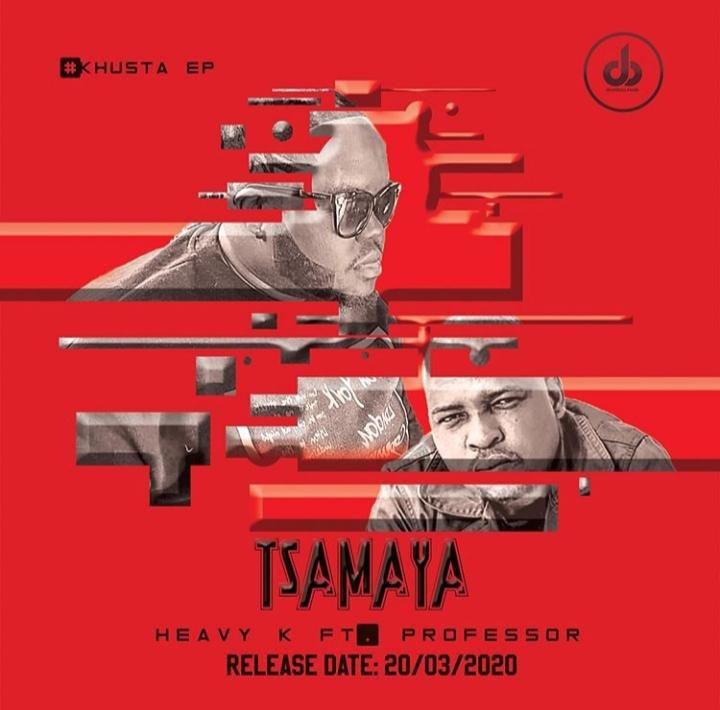 """Heavy K Announces Professor Collaboration """"Tsamaya"""" Release Date, Changes Artwork Colour"""
