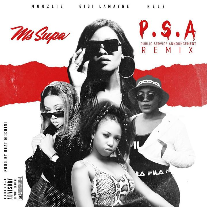 MsSupa To Release 'P.S.A' Remix Feat. Moozlie, Gigi LaMayne & Nelz On Friday