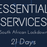 Music, Arts And Entertainment Excluded From The 28 'Essential Services' During SA Lockdown
