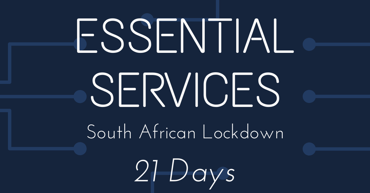 Music, Arts And Entertainment Excluded From The 28 'Essential Services' During SA Lockdown Image