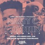 Nasty C Appears On Instagram Live With Nigeria's DO2DTUN On CoolFM Lagos