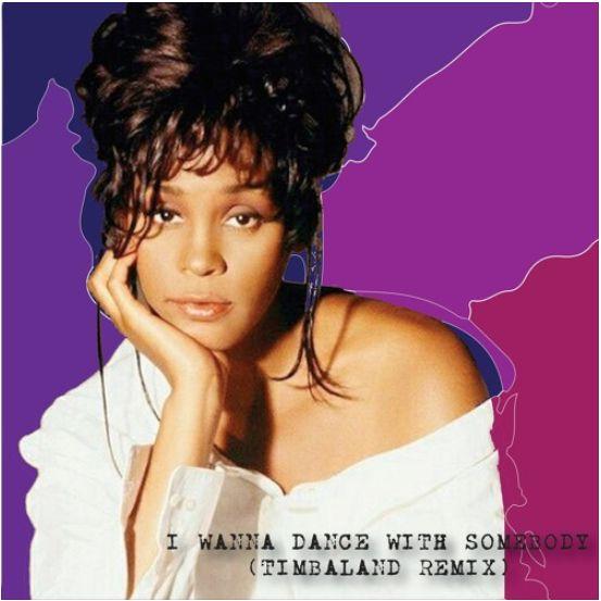 Timbaland Re-creates Whitney Houston's 'I Wanna Dance With Somebody' Image