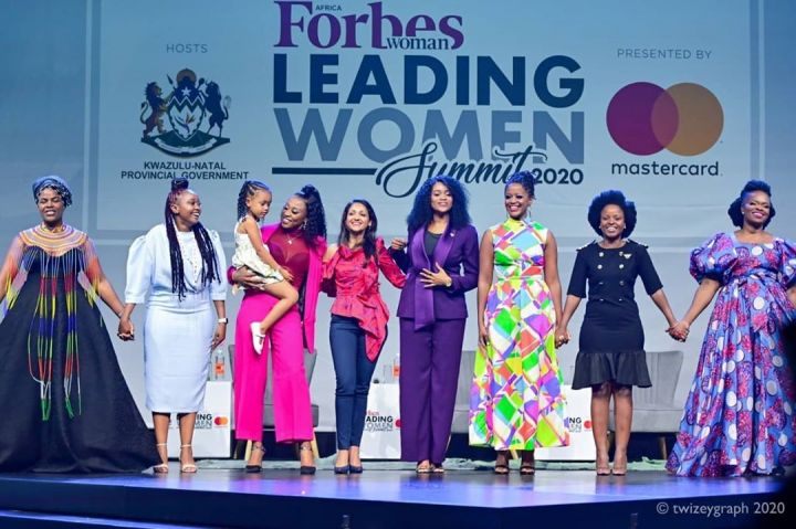 Watch DJ Zinhle Give Her Full Speech As She Grabs Forbes Woman Africa Entertainer Award Image