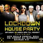 Watch MFR Souls, Earful Soul, Ms Cosmo, Dj Sumbody, Shimza & PH On Lockdown House Party @ 18:00 Till Midnight