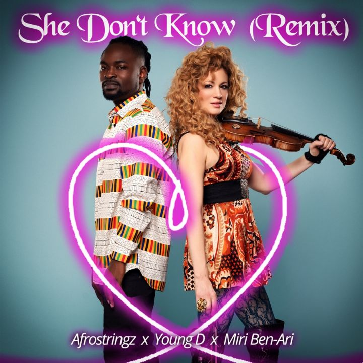 Young D & Miri Ben-Ari » She Don't Know » (Remix)
