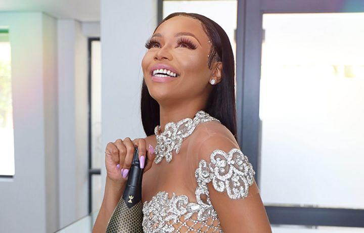Bonang Matheba and Pinkygirl's ' Champagne Anthem' Gets A Remix