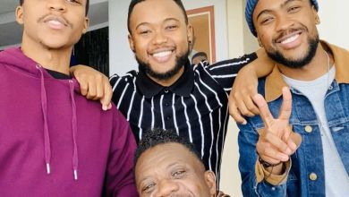 "Photo of Benjamin Dube Gets Amused By Fans ""Wanting"" His Sons"