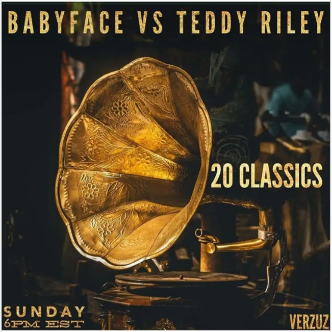 Babyface and Teddy Riley set to have a music face-off