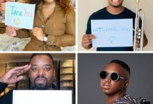 Photo of Thank You: Boity, PH, DJ Shimza And Mo-T On A #NationalLotteryThankYouChallenge