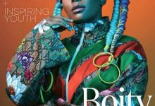 Photo of Boity Stuns On The Cover Of Glamour SA Magazine