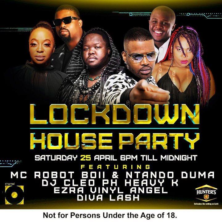 Watch DJ Cleo, PH, Heavy K, Ezra, Vinyl Angel Treat Fans On Channel O Lockdown House Party Mix