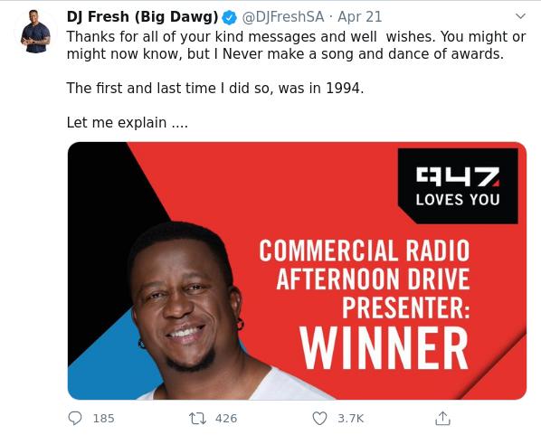 DJ Fresh Reflects On Choosing Radio Career Over A Law Degree Image