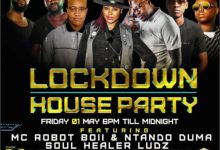 Photo of DJ Shimza, Mas Musiq, Speedsta, Lemon & Herbs, Ludz & Soul Healer For Friday 1st May Channel O Lockdown House Party Mix