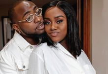 Photo of Davido Joyous As Fiancée, Chioma Test Negative For Covid-19